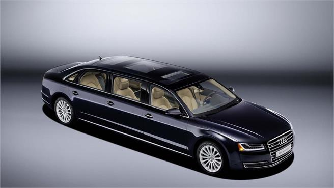 Audi A8 L extended limo con 6 puertas