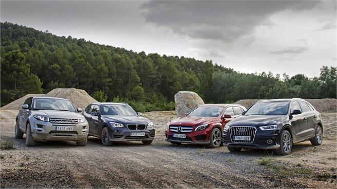 Comparativo: Audi Q3, BMW X1, Range Evoque, Mercedes GLA