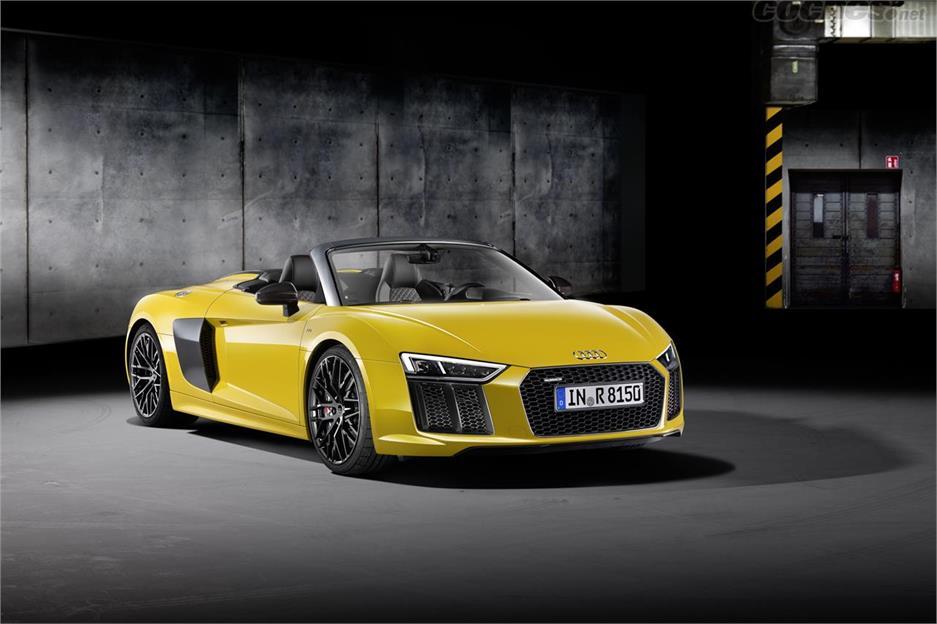 Audi R8 Spyder V10: Ya a la venta