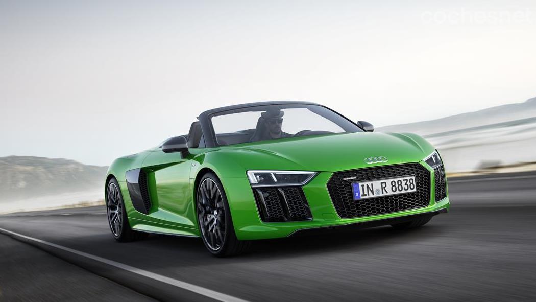Audi R8 Spyder V10 Plus: A otro nivel