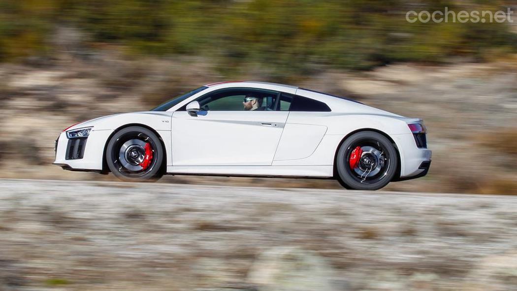 Audi R8 RWS: Primera prueba