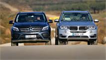 BMW X5 40e vs Mercedes GLE 350d, ¿híbrido o diésel?