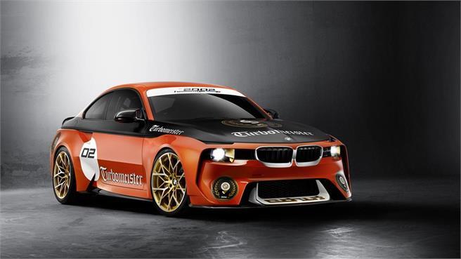 BMW 2002 Hommage: Homenaje al 2002 Turbo