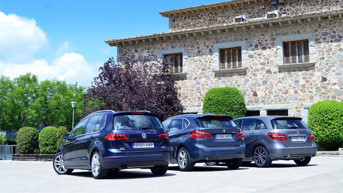 Comparativa Monovolumen Compacto Premium