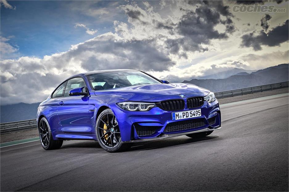 BMW M4 CS, casi un GTS