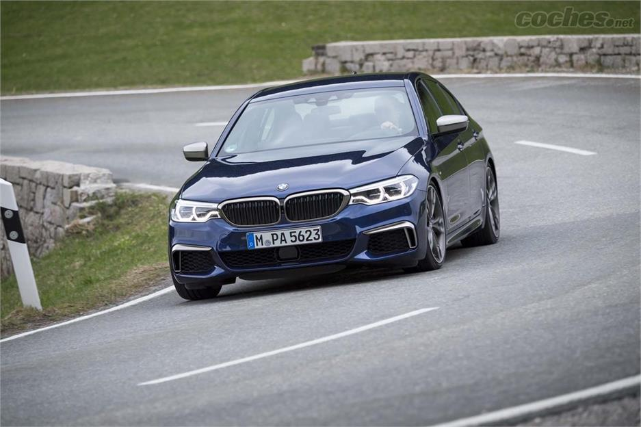 BMW M550i XDrive, casi un M5