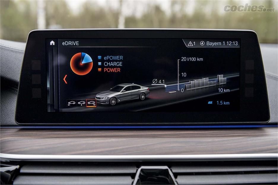 BMW 530e, alternativa al diésel