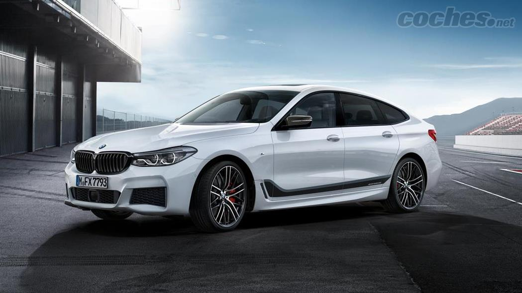 BMW Serie 6 GT: Accesorios M Performance