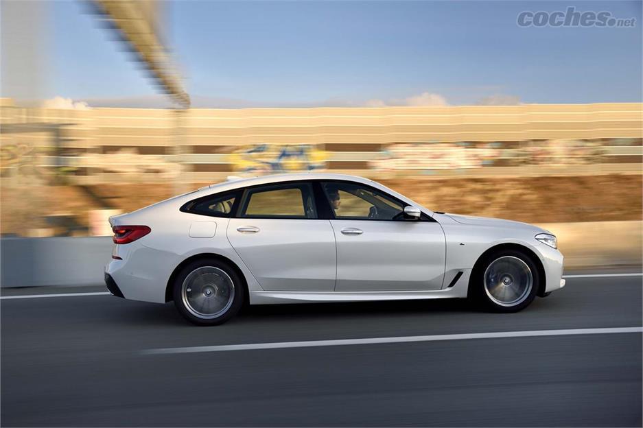 BMW Serie 6 GT, más bonito que el 5 GT