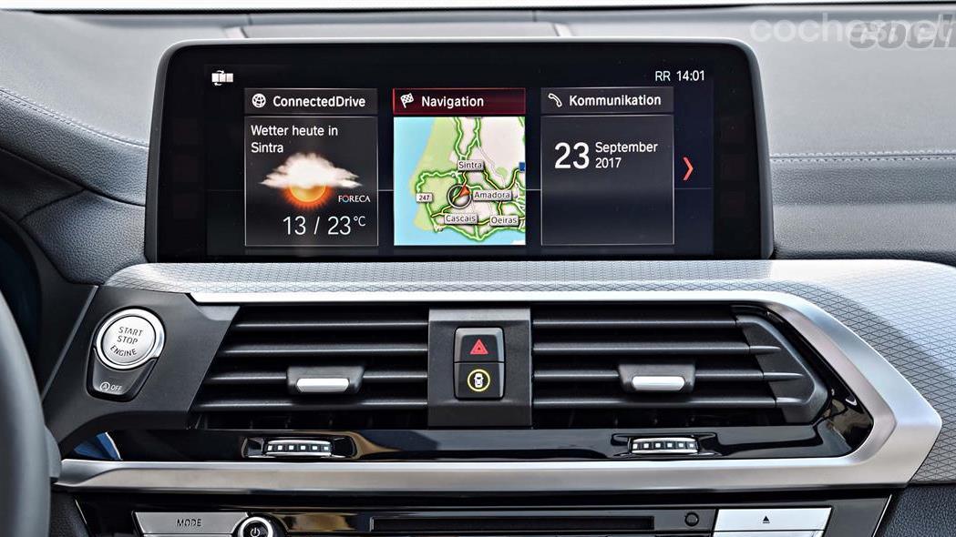 BMW X3, notable mejora