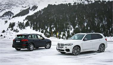 BMW X5 M50d - Porsche Cayenne S Diesel