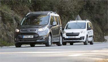 Citroën Berlingo Multispace vs Ford Tourneo Connect: Alternativa familiar