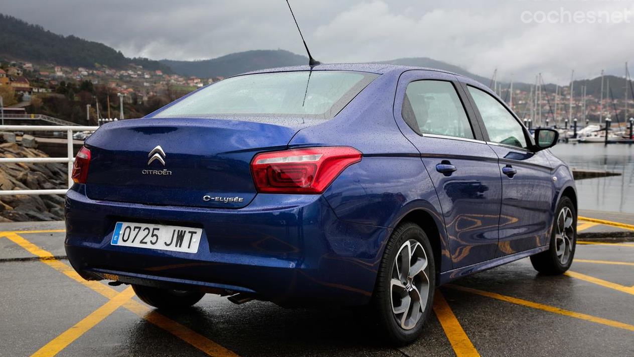 Citroën C-Elysée: Puesta al día