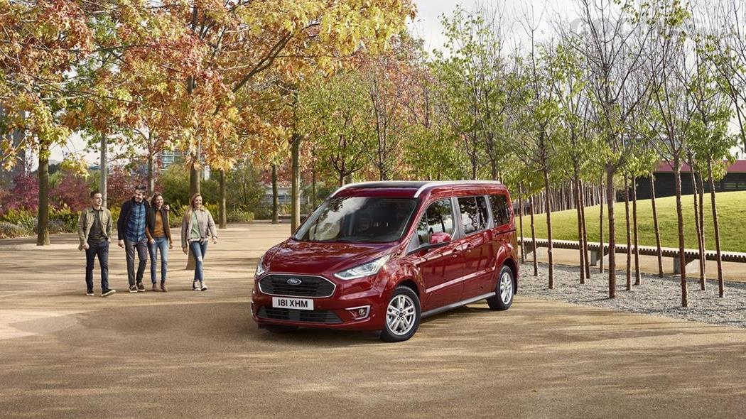 Ford Tourneo Connect y Tourneo Courier