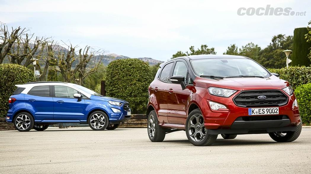 Ford EcoSport gasolina 4x2 contra diésel 4x4 | Noticias