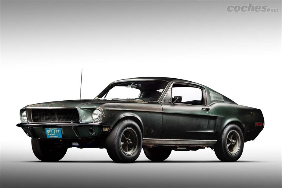 Ford Mustang Bullitt, herencia McQueen