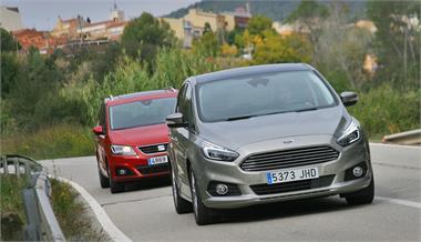 Ford S-Max 2.0 TDCi - Seat Alhambra 2.0 TDi