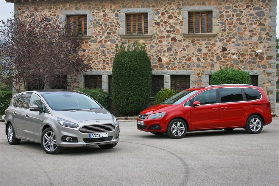 Ford S-Max - Seat Alhambra