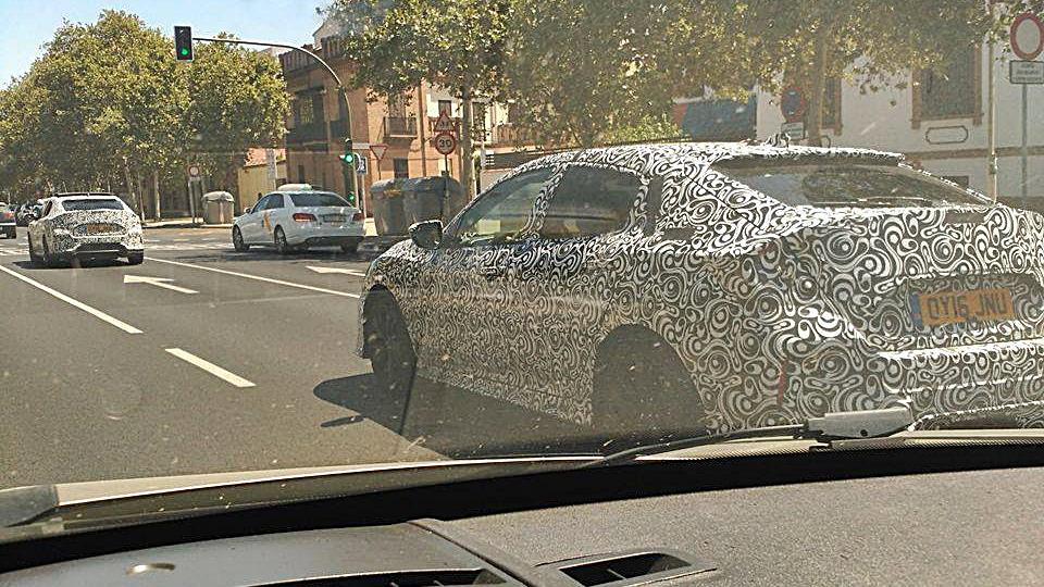 Honda Civic 2017: Cazado en Sevilla