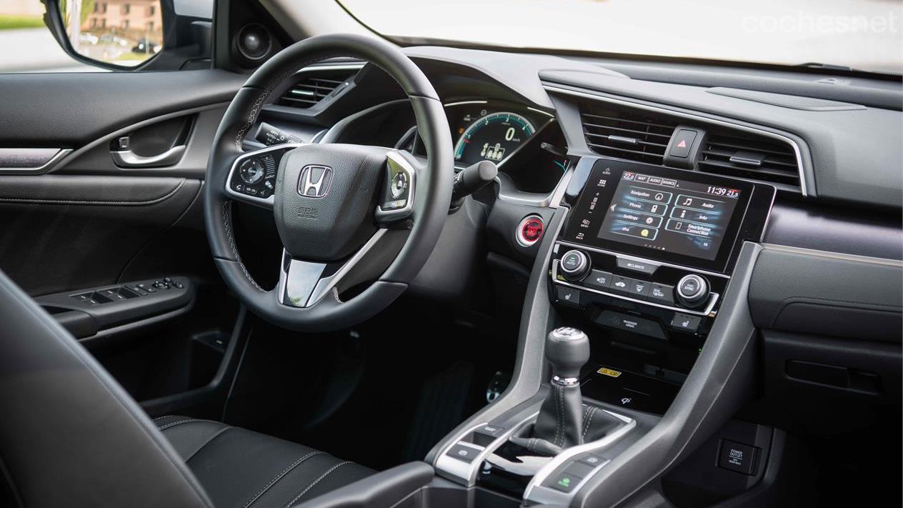 Honda Civic 1.6 i-DTEC: Evolucionado