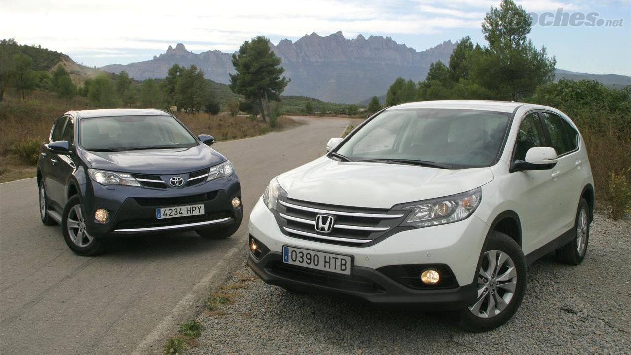 Honda cr v 2013 noticias for Honda crv vs toyota rav4 2014