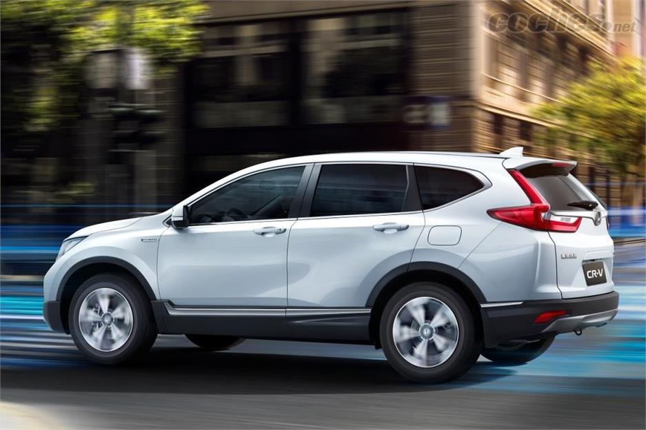 Honda CR-V Hybrid: Primicia mundial