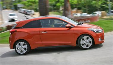 Hyundai i20 Coupé 1.4 MPI 100 CV Tecno Orange