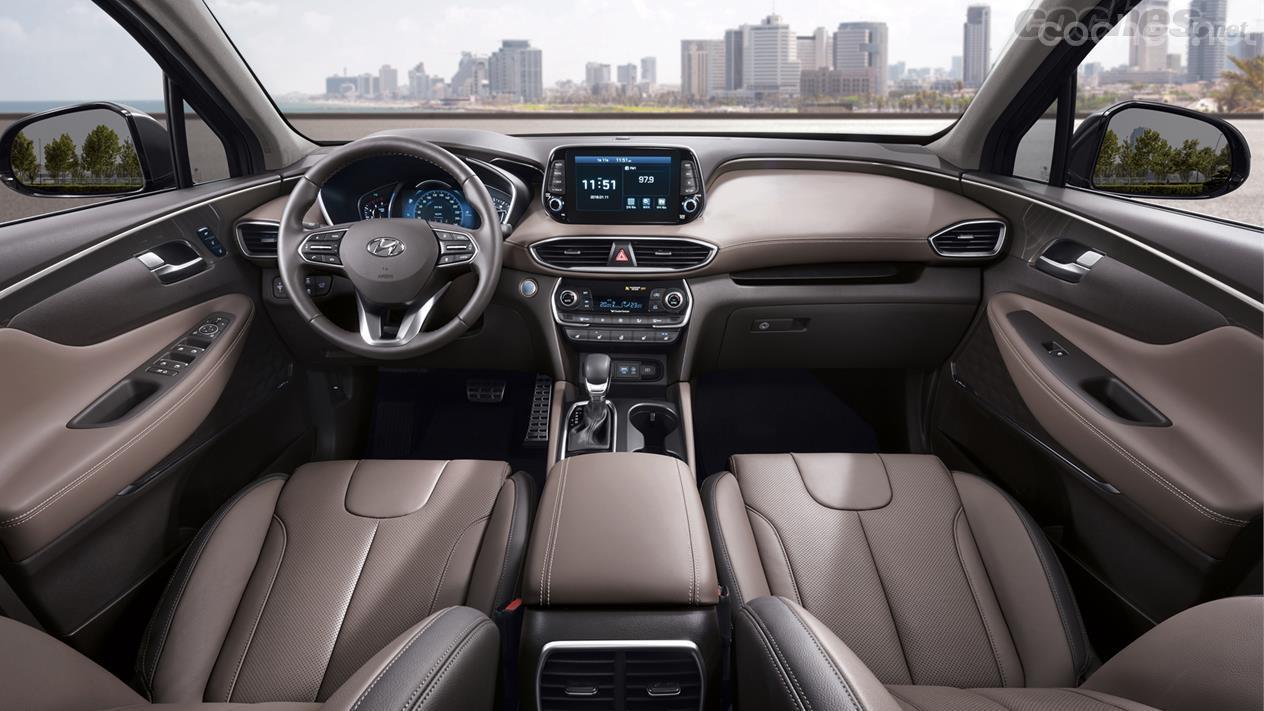 Hyundai Santa Fe: Más empaque