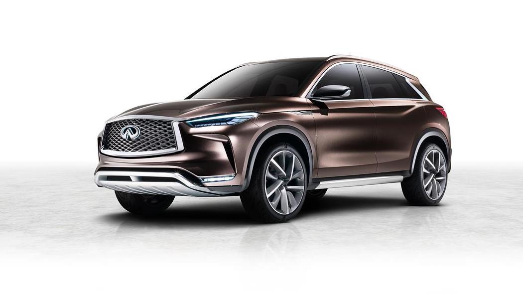 Infiniti QX50 Concept: