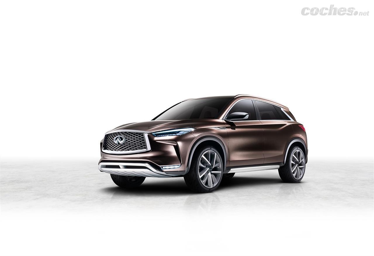 Infiniti QX50 Concept: Muy cerca del coche de producción - foto 1