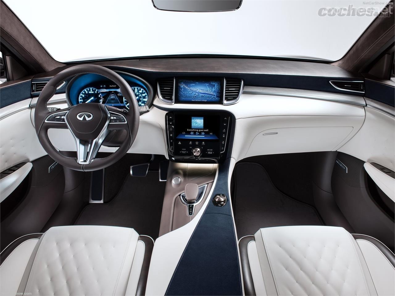 Infiniti QX50 Concept: Muy cerca del coche de producción - foto 11