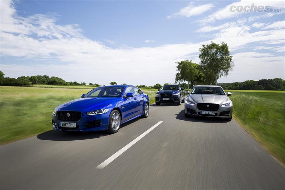 Jaguar F-Pace, XF y XE: Nuevos motores | Noticias Coches.net