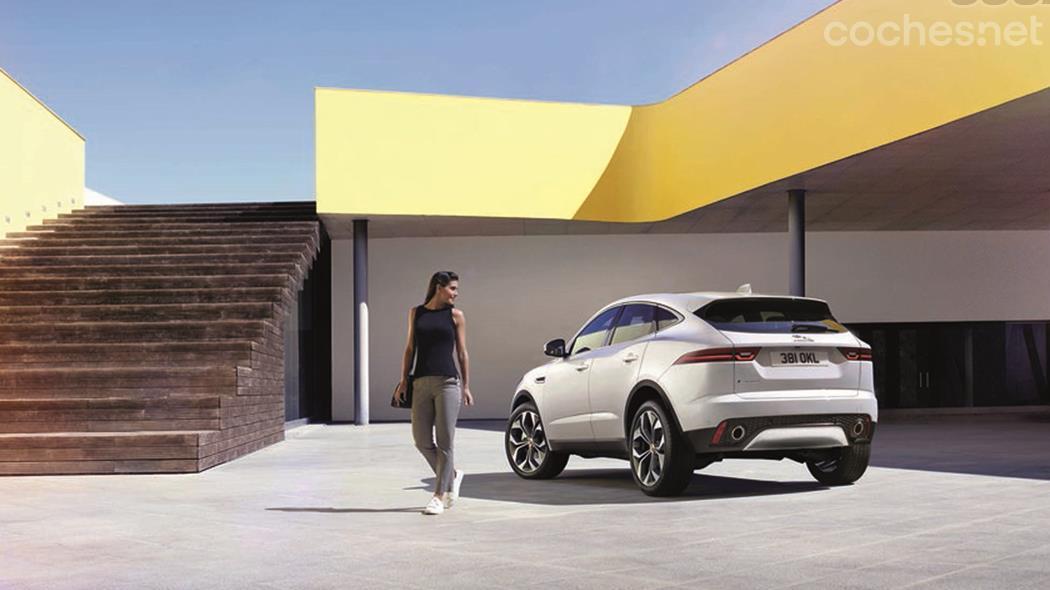Jaguar E-Pace, planta cara al Evoque