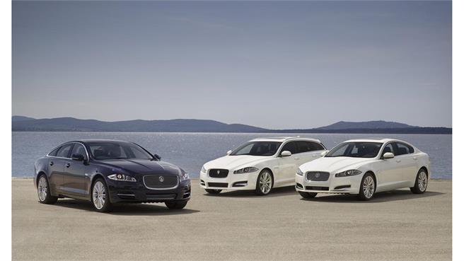 Jaguar XF y XJ 2013