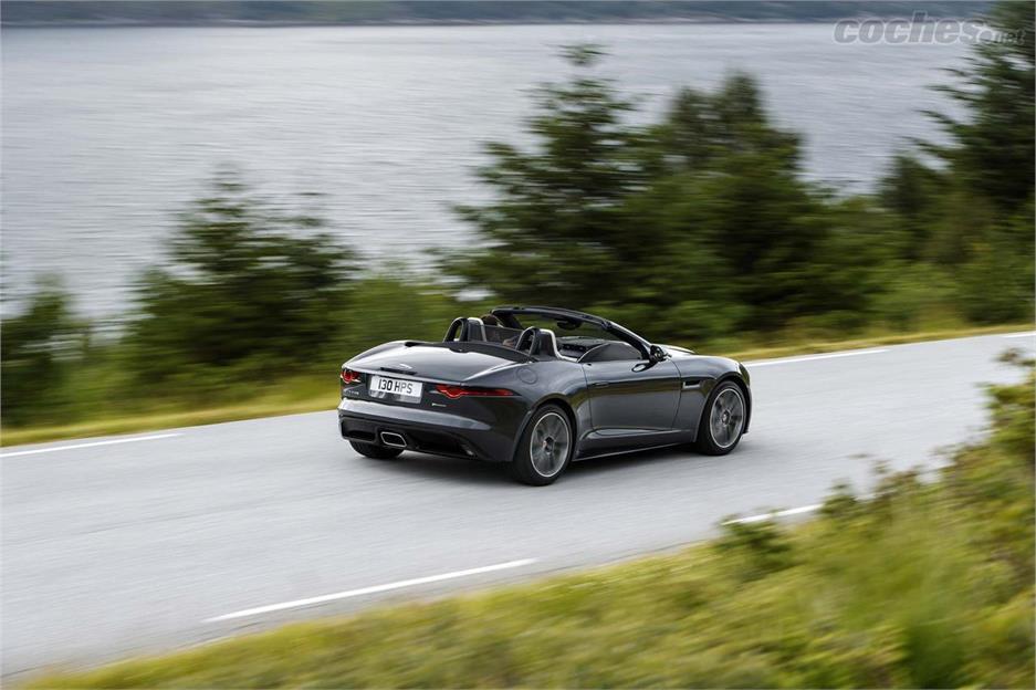 Jaguar F-Type 4 cilindros