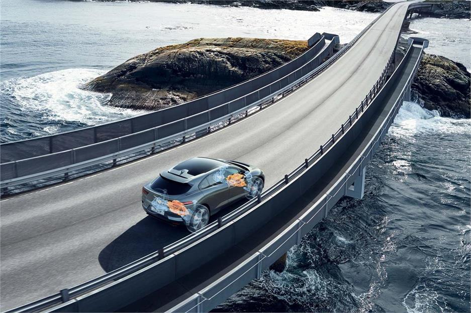 Jaguar i-Pace, cómodo y muy rápido