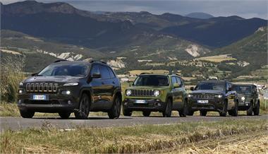 Gama Jeep 75 Aniversario: Sólo 500 unidades