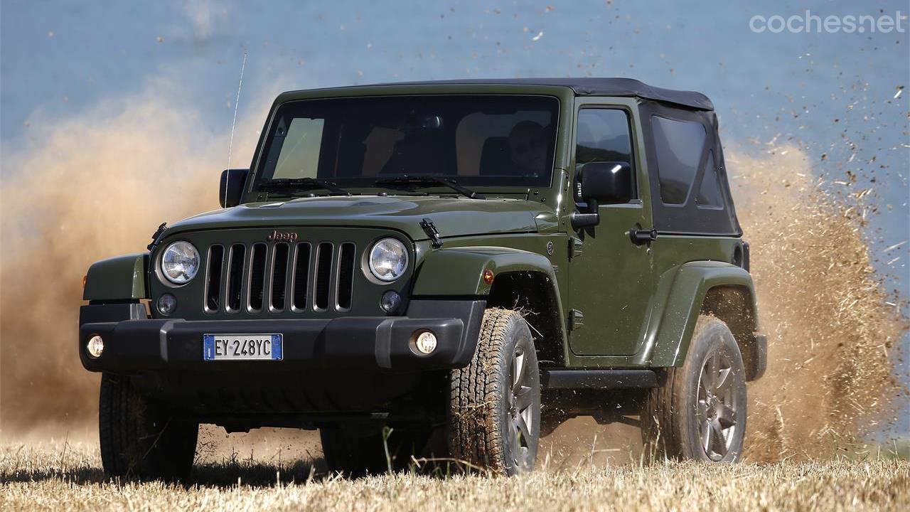 Gama Jeep 75 Aniversario: Sólo 500 unidades | Noticias Coches.net