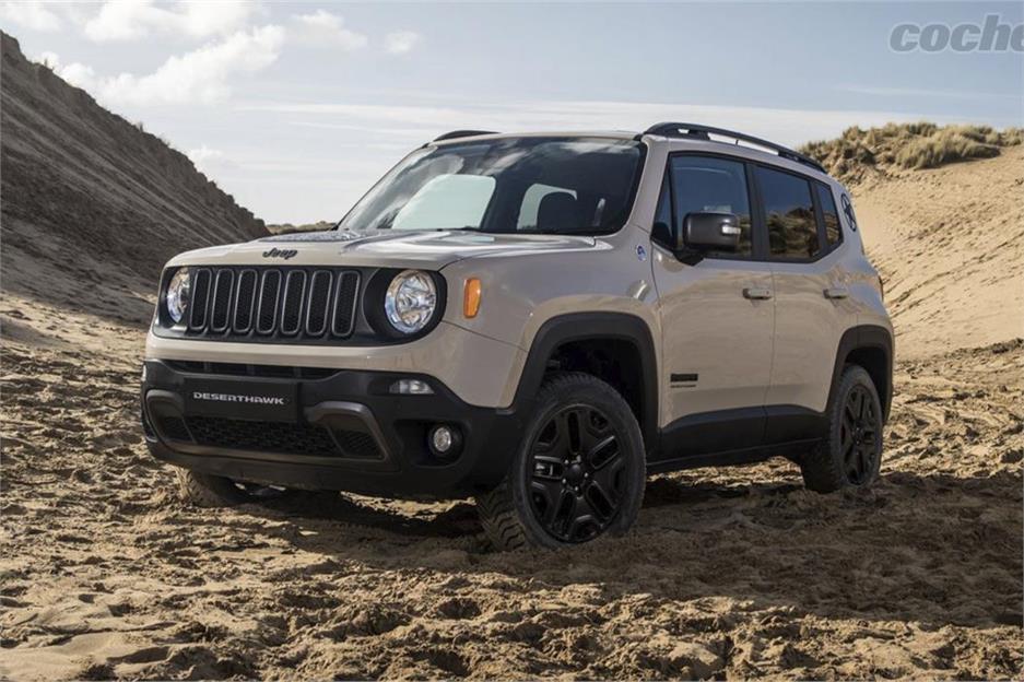 Nuevas ediciones Jeep Renegade