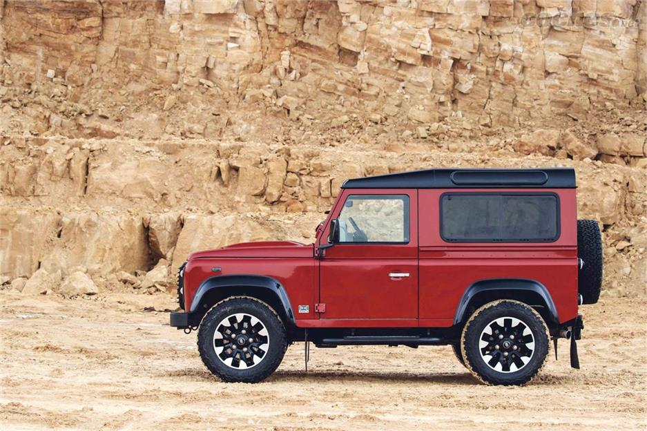 Land Rover Works V8 ¡con 405 CV!