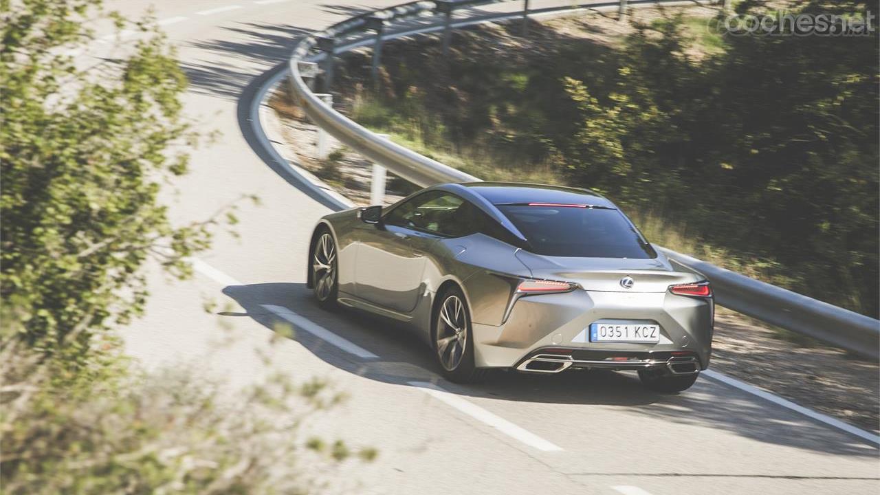 Lexus LC 500 5.0 V8: Personalidad propia