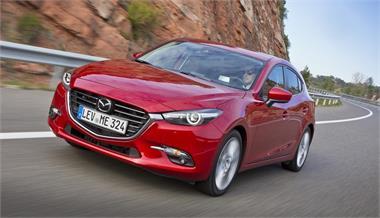 """Mazda3 2017: """"Facelift"""" de media vida"""