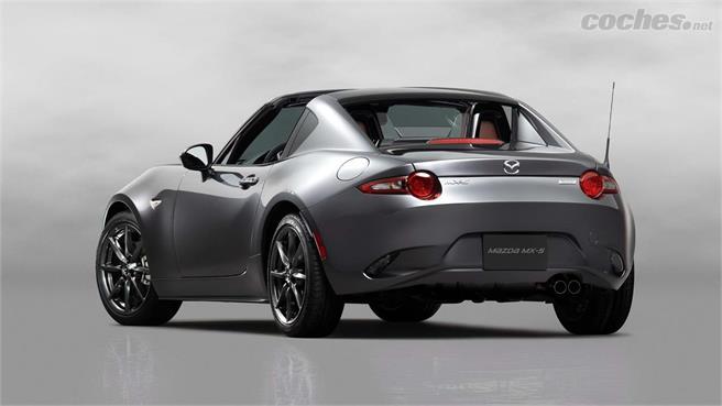 Mazda MX-5 RF, un targa de lo más sexy