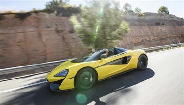 McLaren 570S Spider, ¿para qué más?