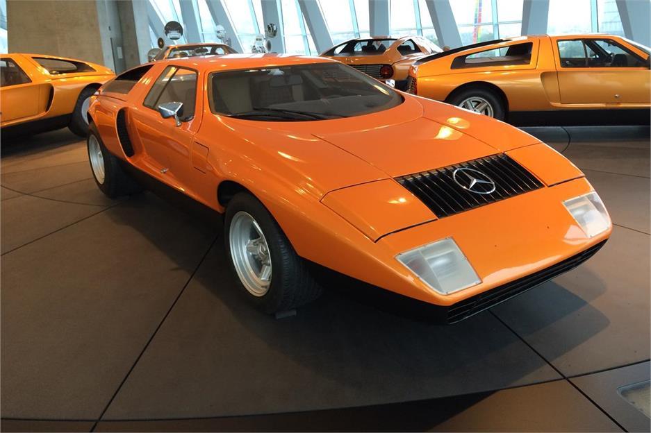 Visita al Museo Mercedes-Benz