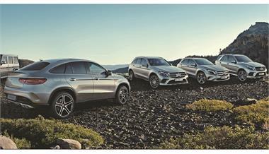 Mercedes-Benz: Gama SUV