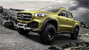 Mercedes Clase X: Anticipo del pick-up de la marca