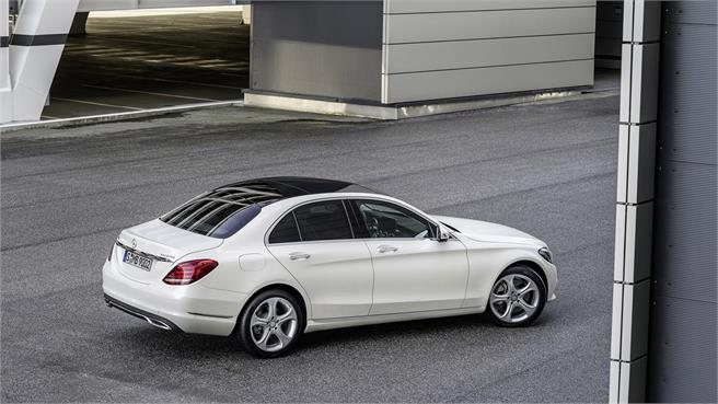 2015 Mercedes-Benz C-Class White