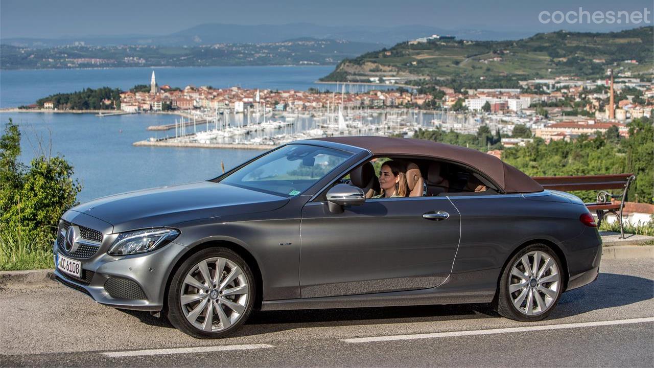 9bdb3c9337 Mercedes-Benz Clase C Cabrio  Impecable