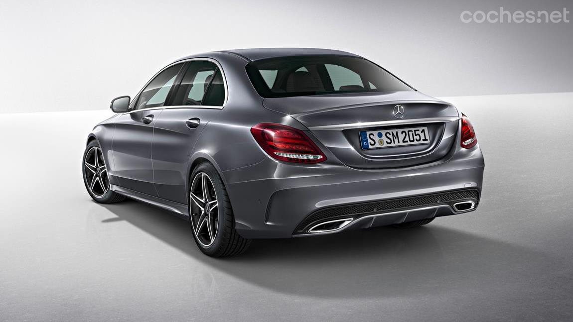Mercedes Clase C y GLC: Más equipamiento